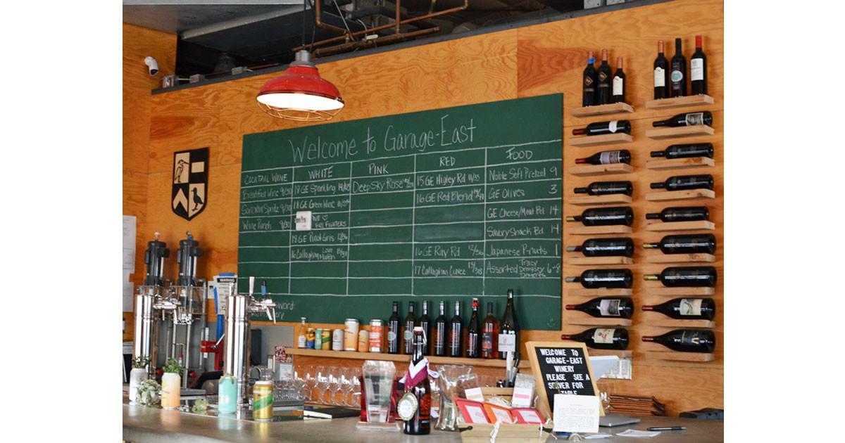 Garage-East Wine Bar at the Barnone © Cori Solomon