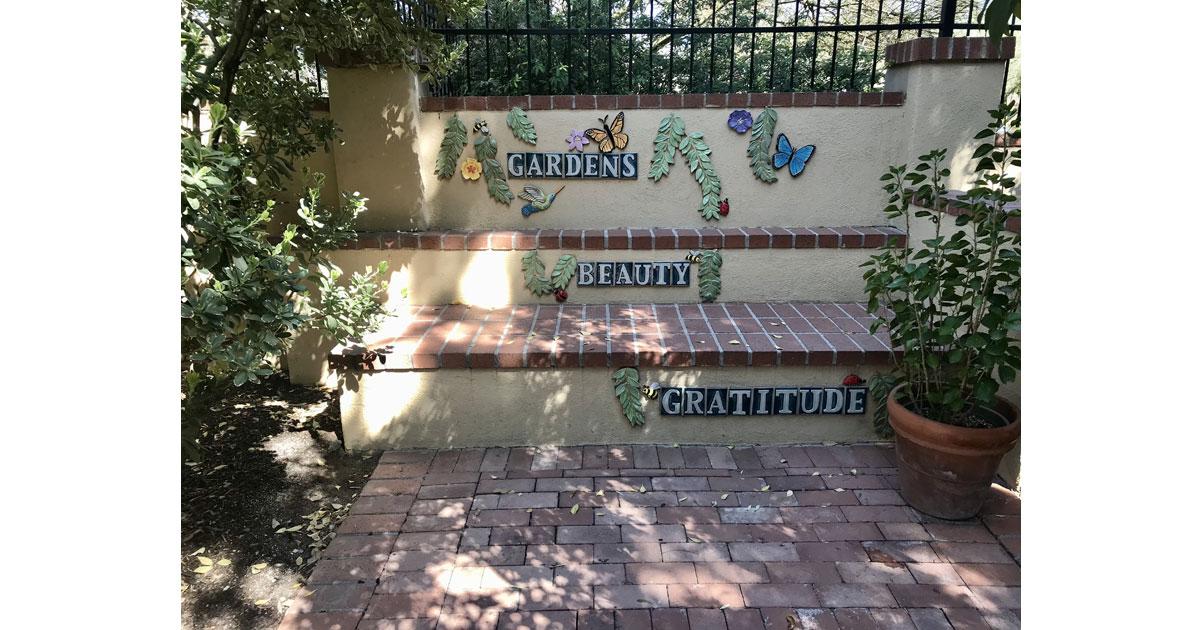 Garden Art Wall