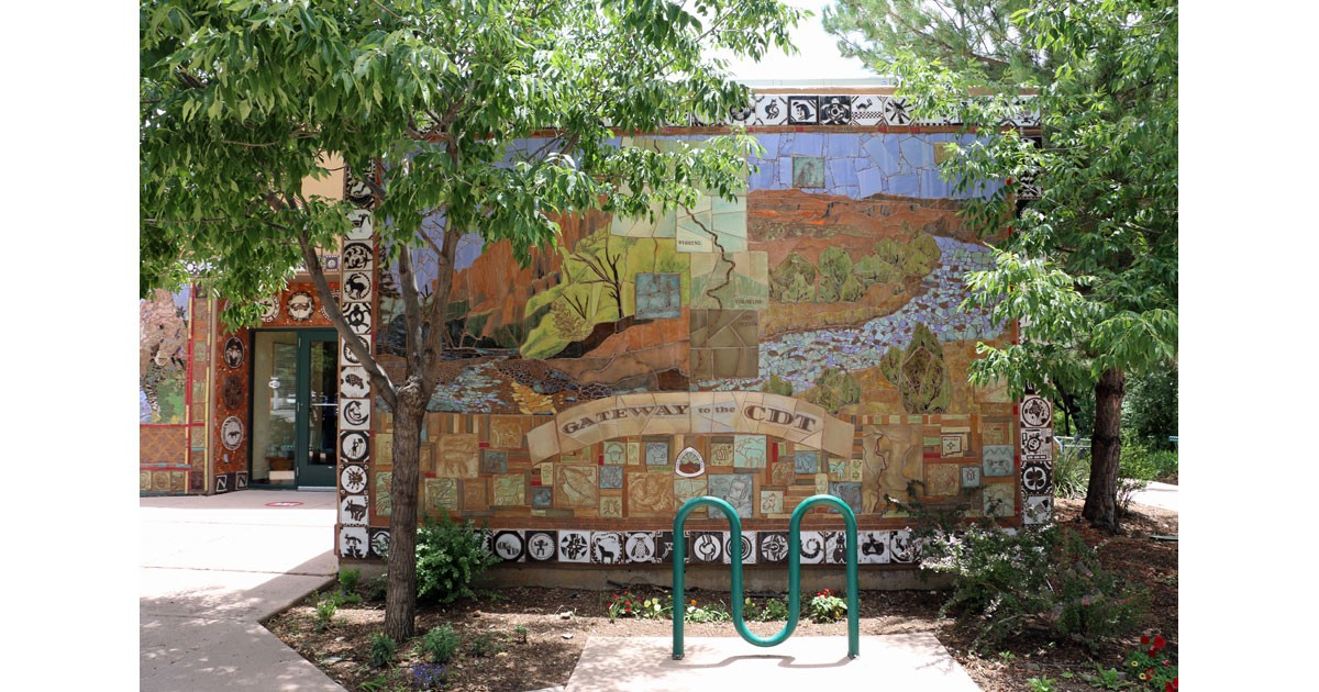 Gateway to the Continental Divide Mural