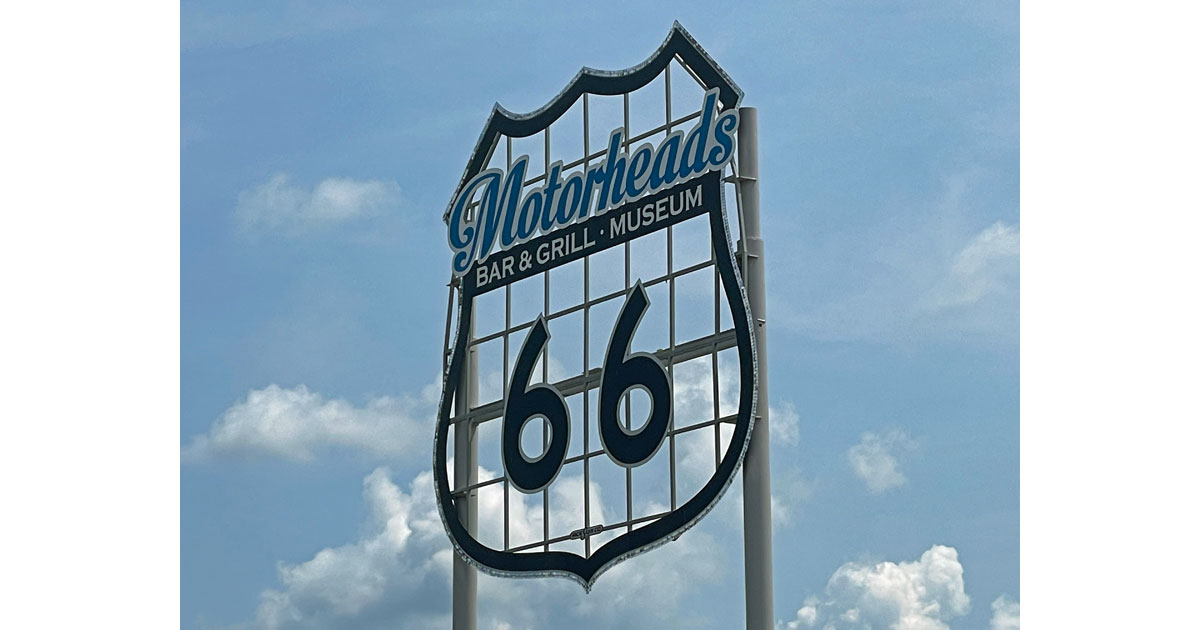 Get your kicks on Route 66!