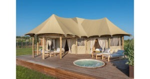 Glamping with Exclusive Tents