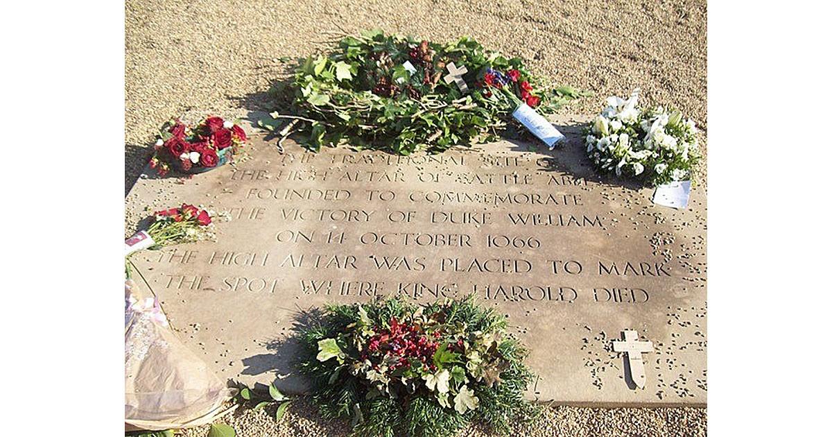 Grave Site-King Harold