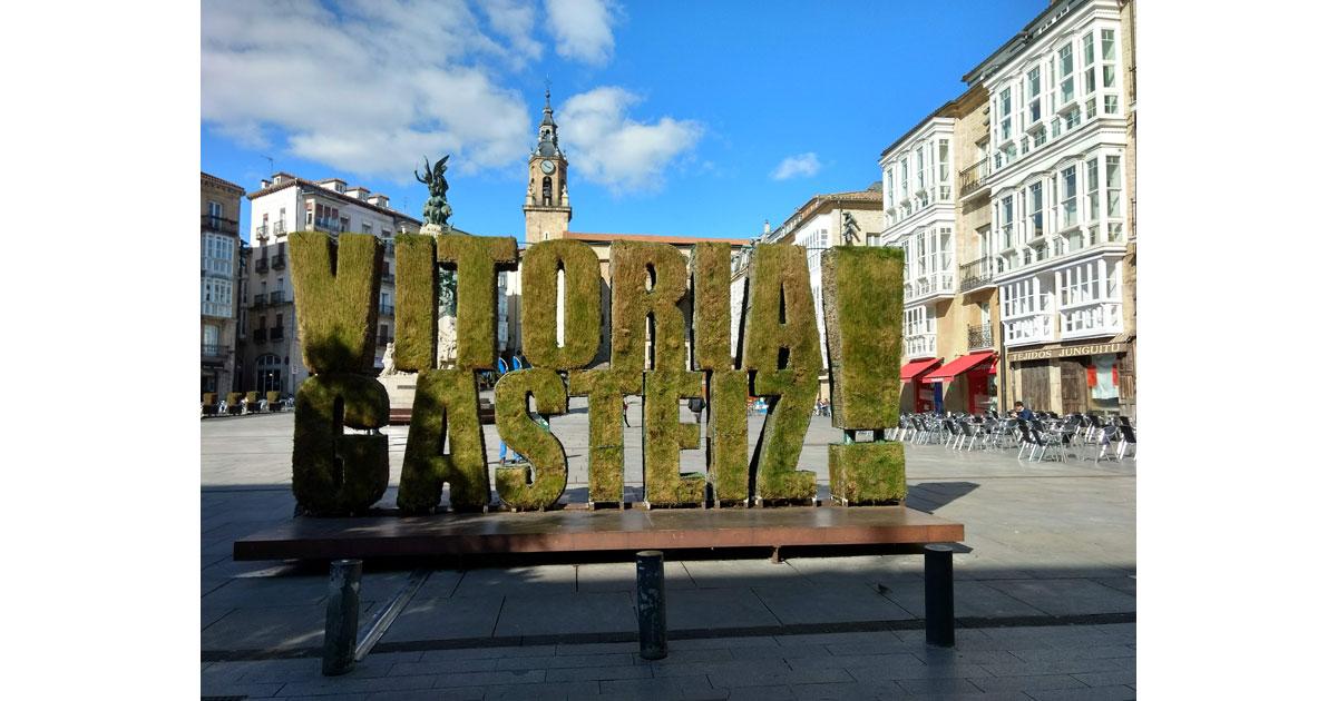 European Green Capitla 2012 - Vitoria-Gasteiz is the Basque Capital.
