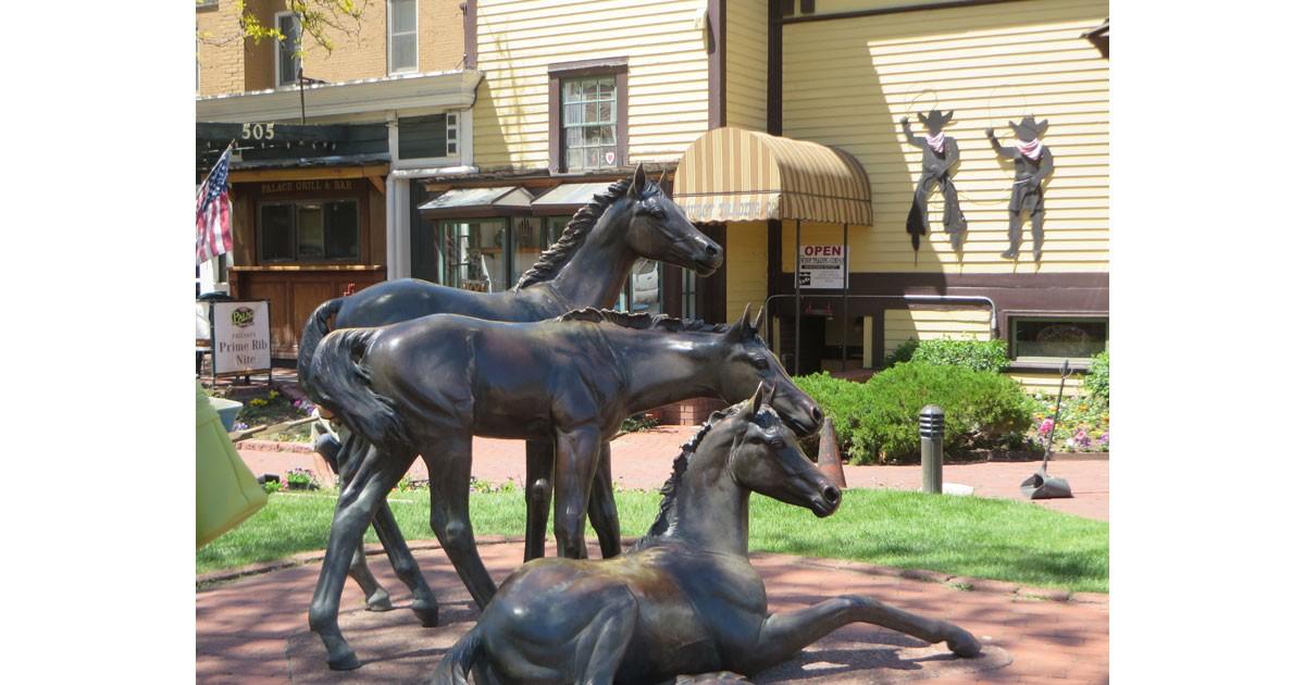 Horse Sculpture in Durango