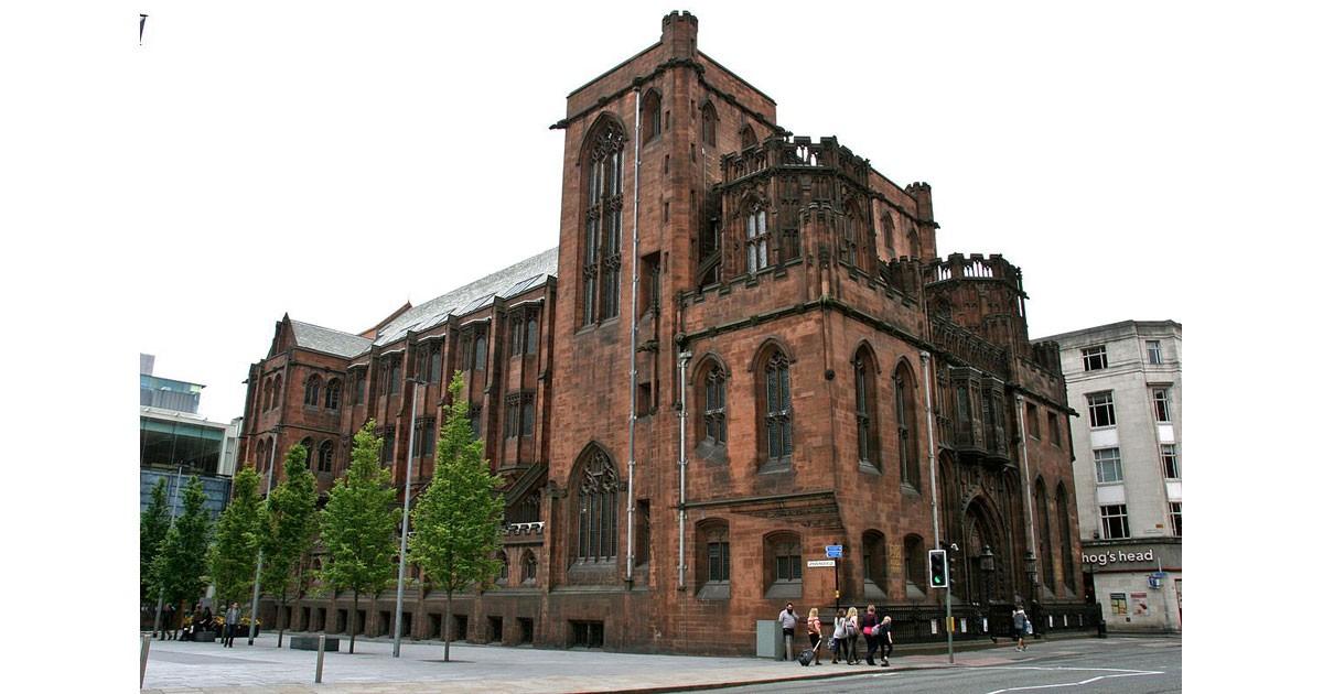 John Rylands Library -  courtesy of  Wikimedia Commons