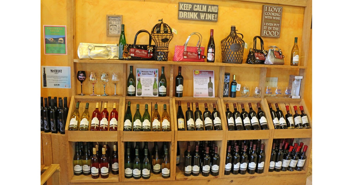 Keep Calm and Drink Wine at Courtyard Winery