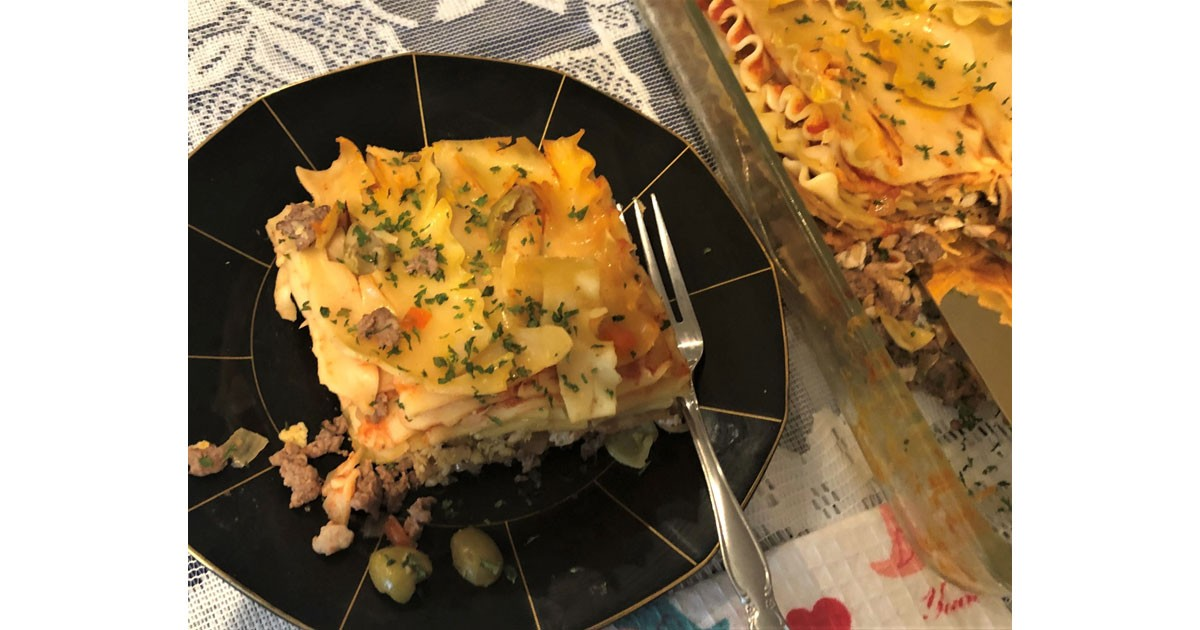 Lasagna Meat Pie