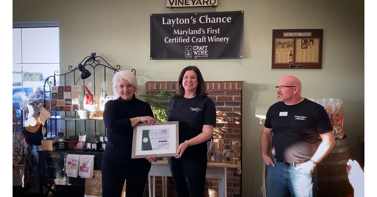Laytons Winery owners and Craft Wine Director Carole