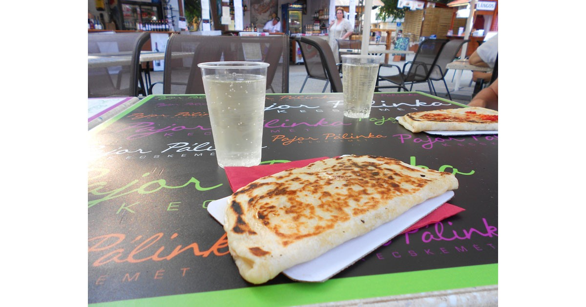 A lepeny is like a calzone, and is usually served at festivals or on the street.