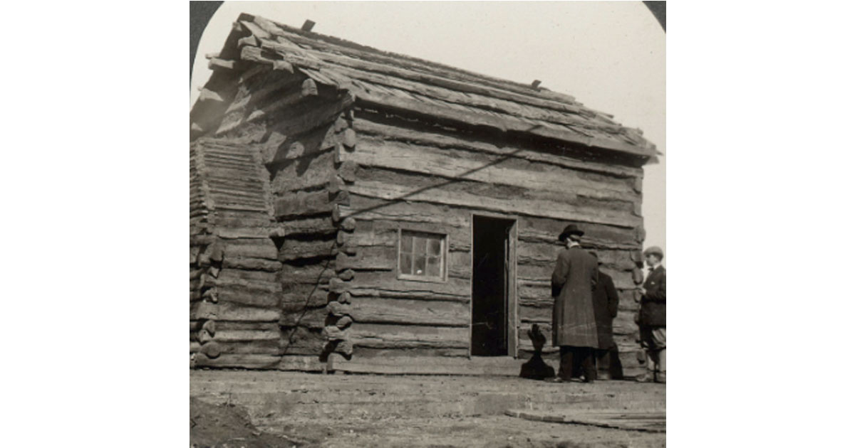 Lincoln family's cabin