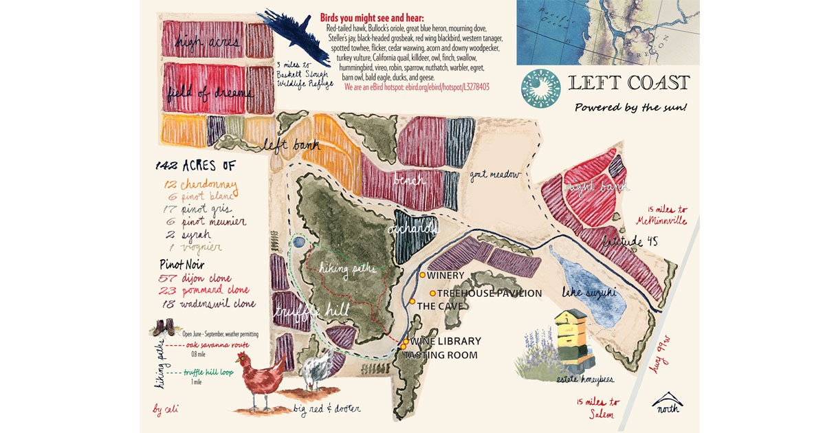 Map Cali's