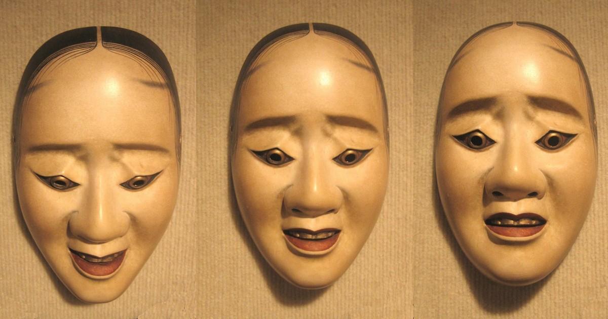 Noh Hawk Mask