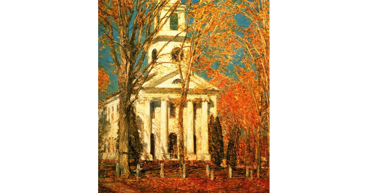 Church at Old Lyme, 1905