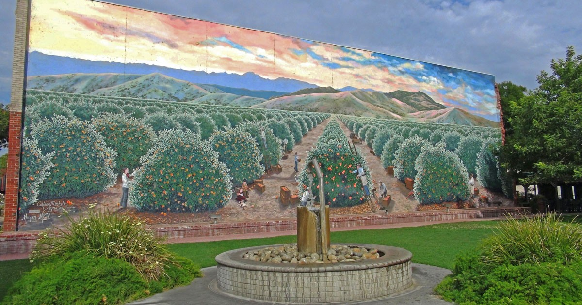 Orange Grove Sculpture in Exeter, California