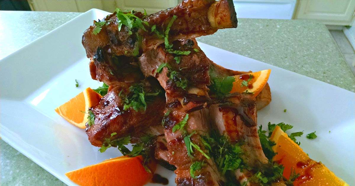 Oven Roasted Back Ribs