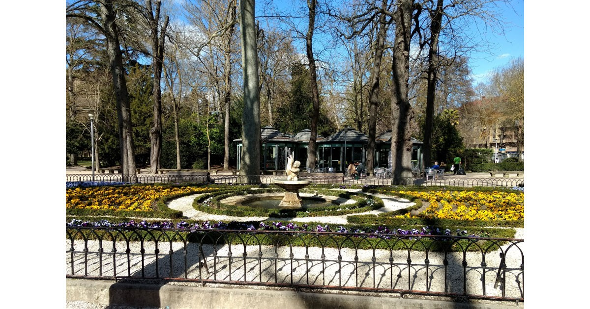 Park Florida in Vitoria-Gasteiz dates back to the 1820s. One of the city's many Green Spaces.