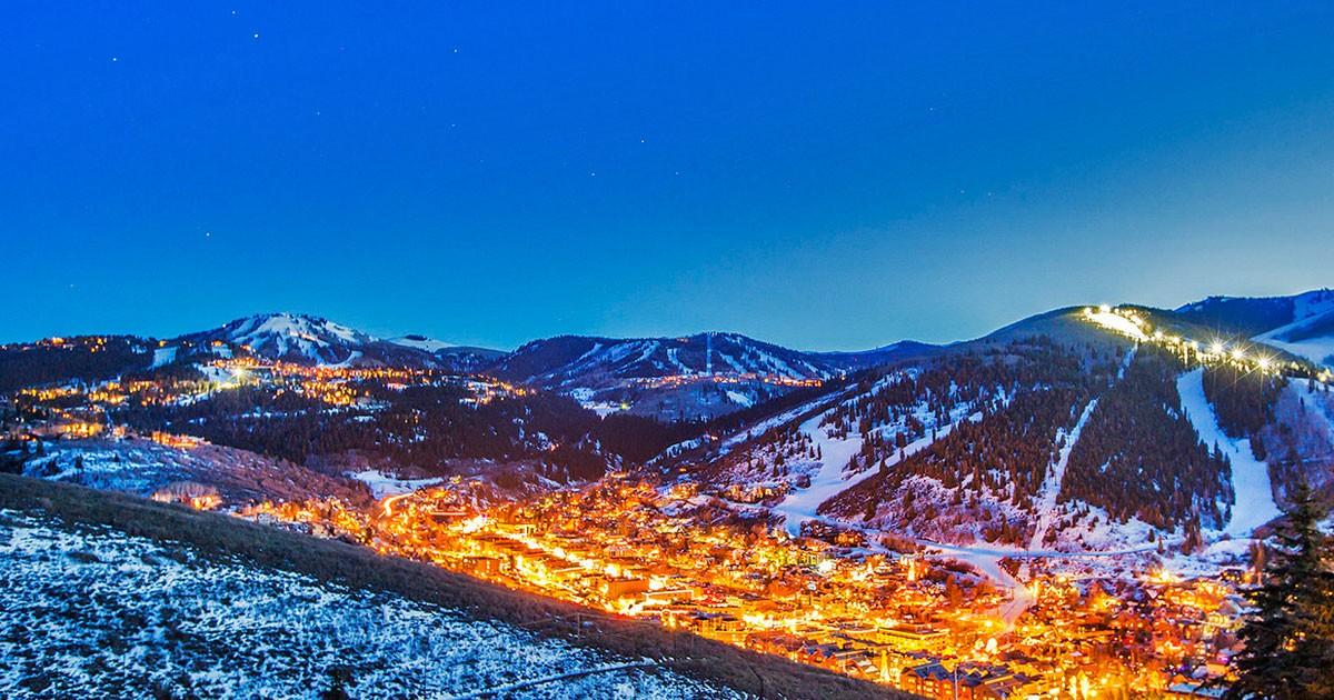 Winter in Park City, Utah