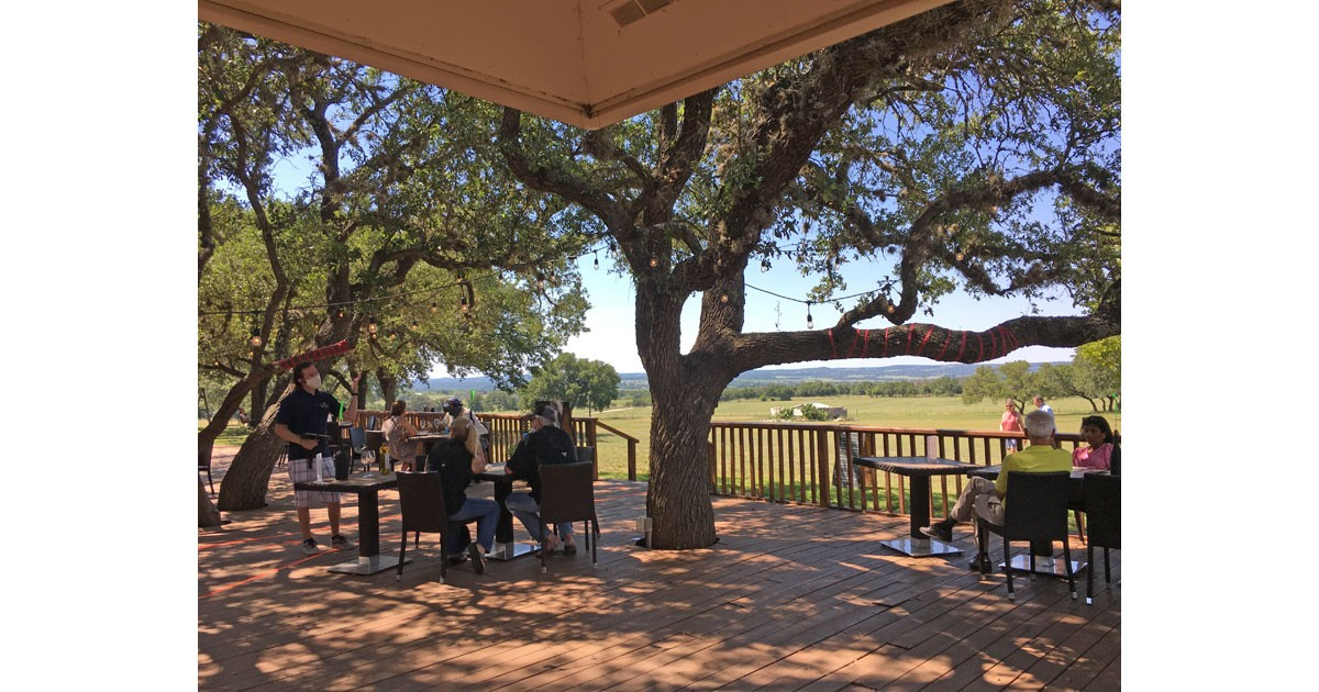 Pedernales Cellars in Stonewall, courtesy Pederanles Cellars