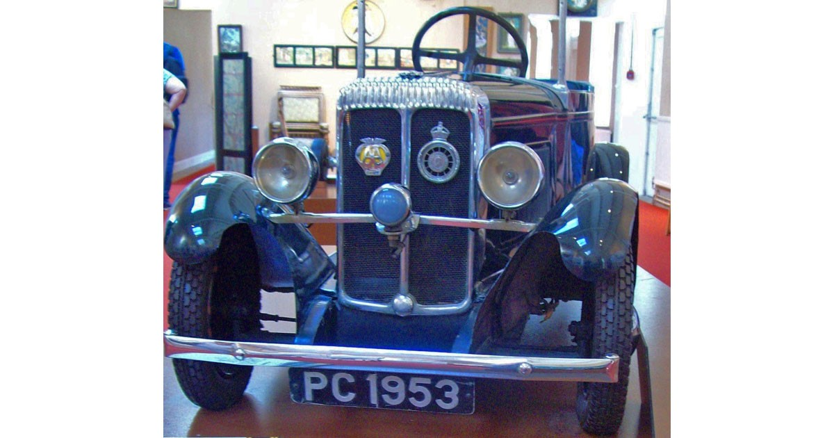 Prince Charles' Toy Car