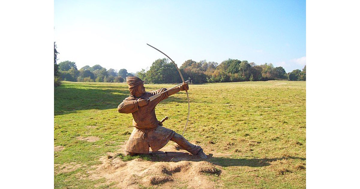 Archer at the Battle of Hastings