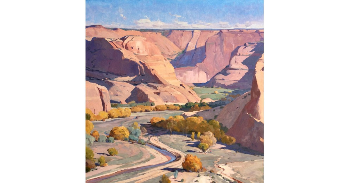 """Canyon Light"", by contemporary artist Russell Case"