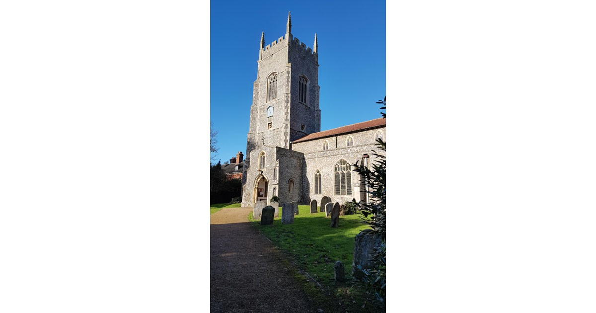 Saham Toney Church, Norfolk