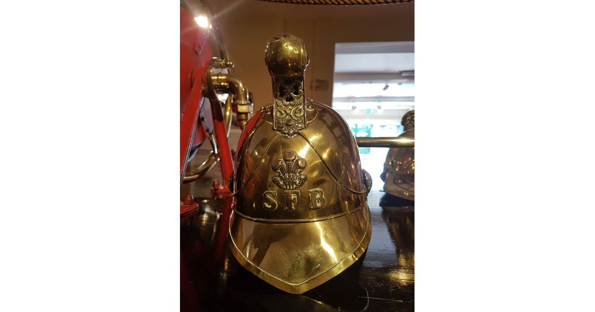 Sandringham Fire Brigade helmet