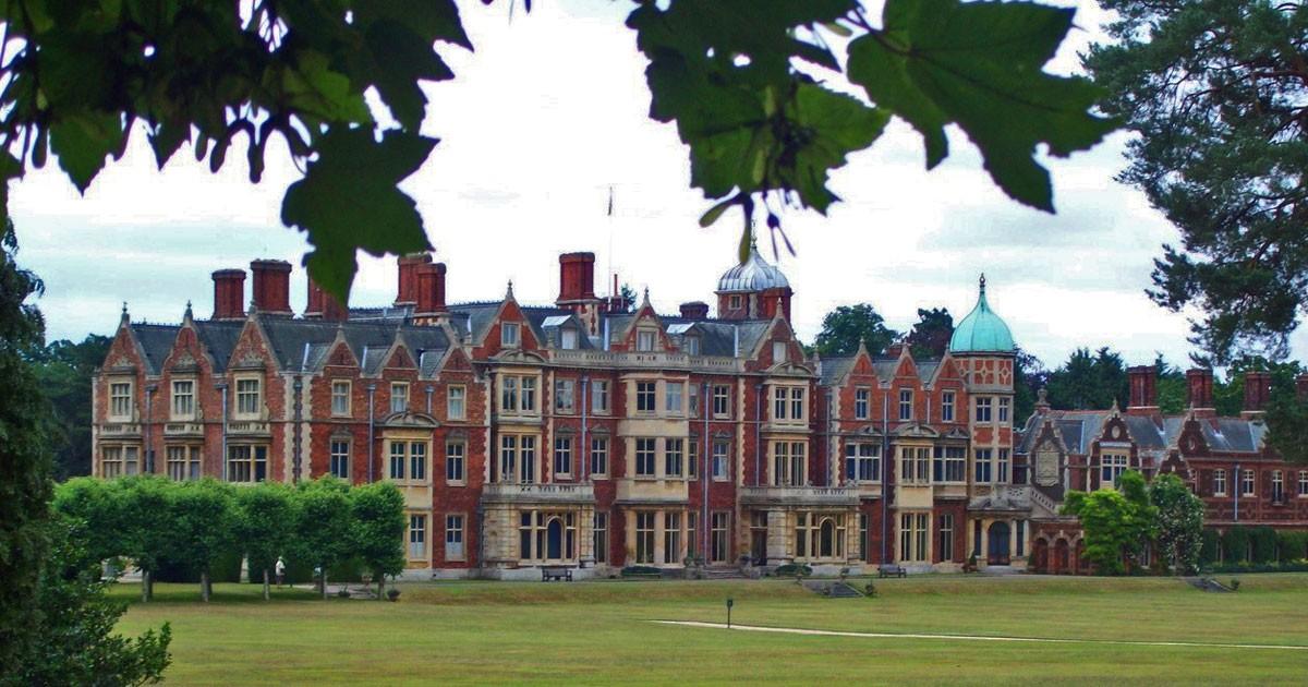 Sandringham House - West Front