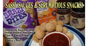 Sassy Sauces and Scrumptious Snacks