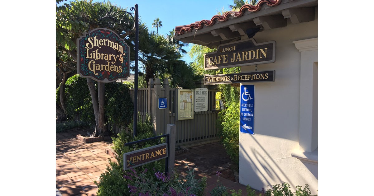 Sherman's Library & Garden and Cafe Jardin