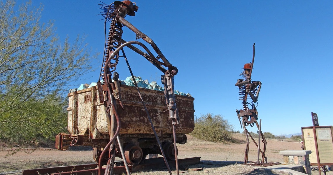 Skeleton Crew Graveyard Shift on Arizona's Ore Cart Trail