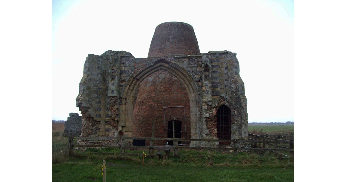 St Benet's Abbey Gate and ruined mill