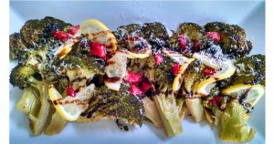 Steam Roasted Broccoli