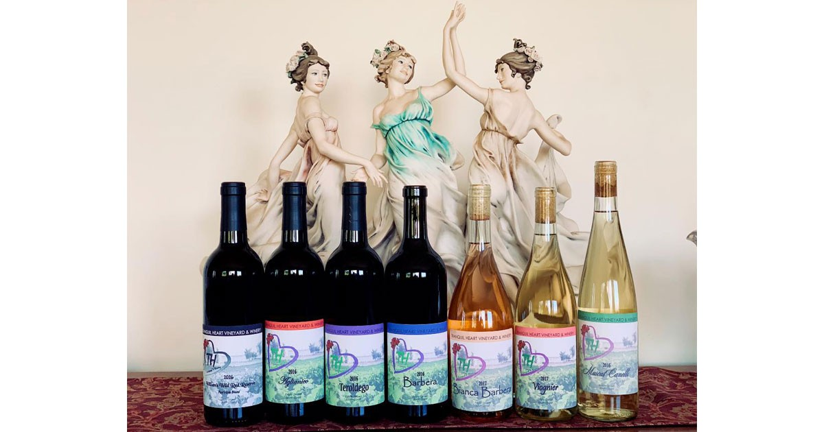 Tranquil Heart Winery - Line up