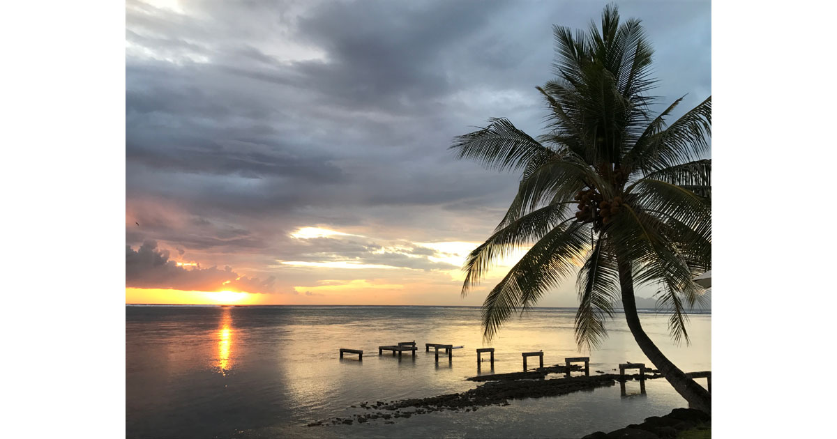 Tahiti Sunset ©Debbra Dunning Brouillette