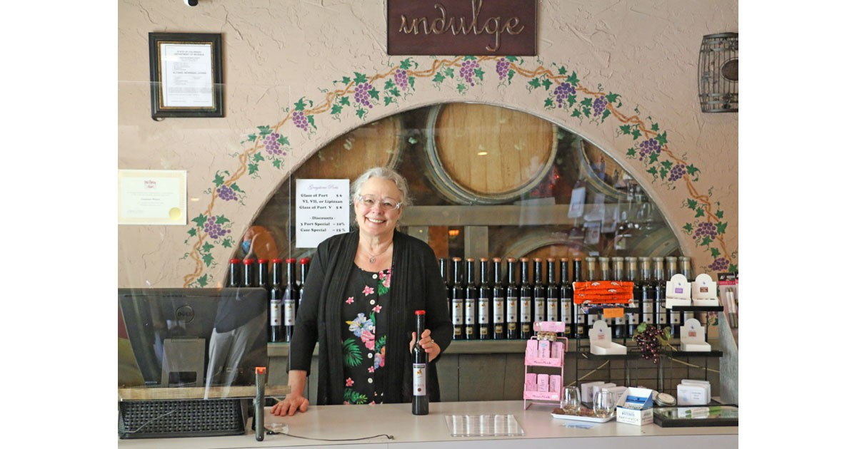 Taste Port at Graystone Winery