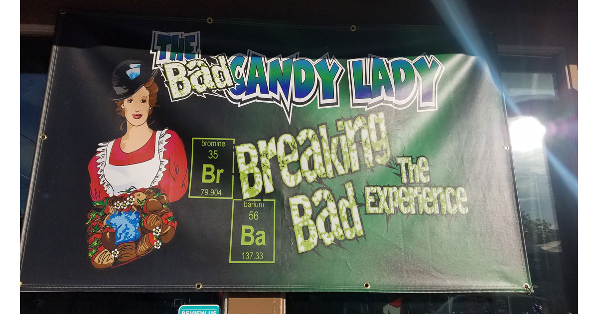 The Bad Candy Lady Shop