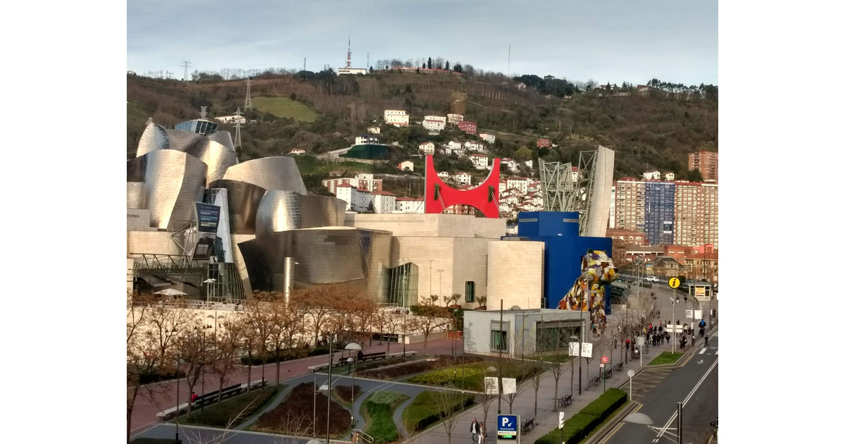 The Guggenheim Museum in Bilboa was instrumental in the riverside revamp of the city.
