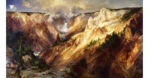 Thomas Moran-Grand Canyon of Yellowstone-Smithsonian