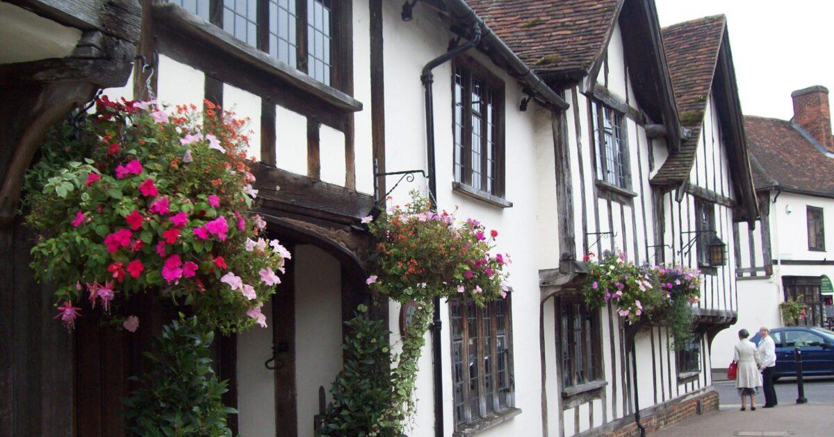 Timber framed Inn in Suffolk