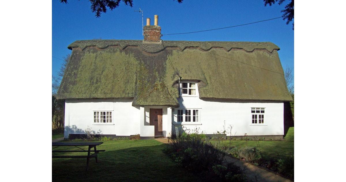 Timber framed and hatched cottage