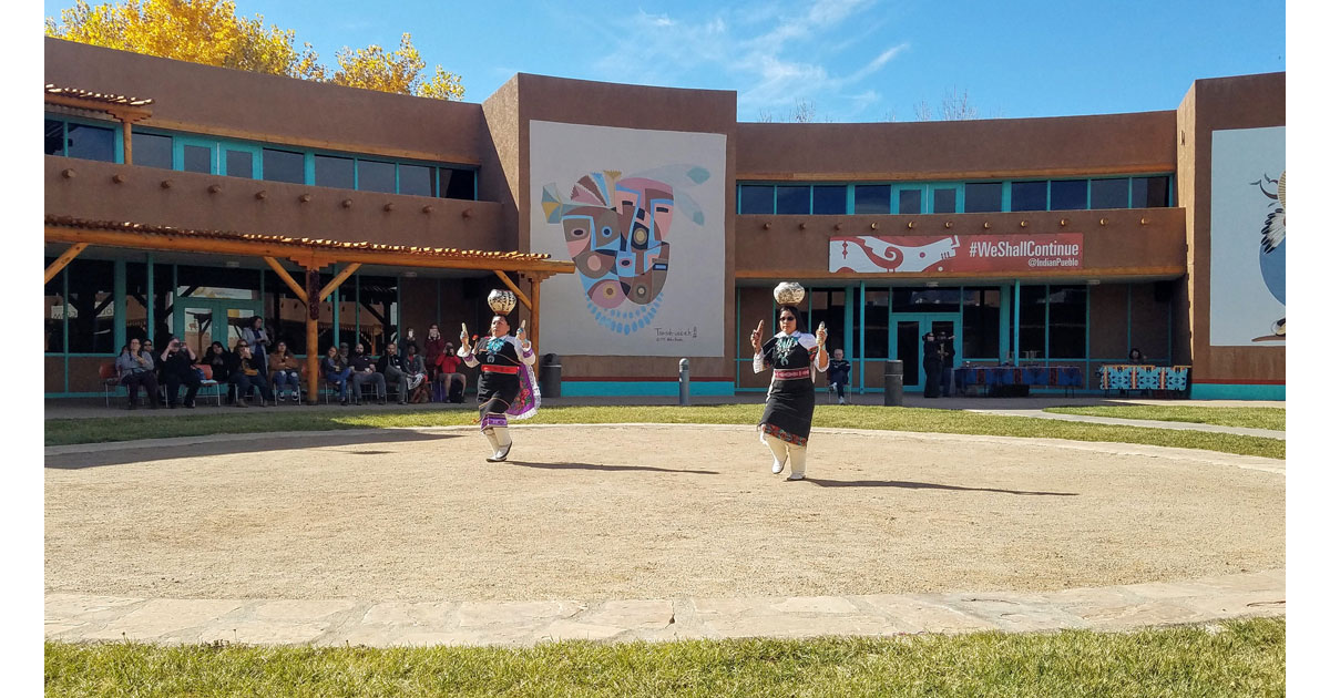 Traditional Pottery Dancing at Indian Pueblo Cultural Center