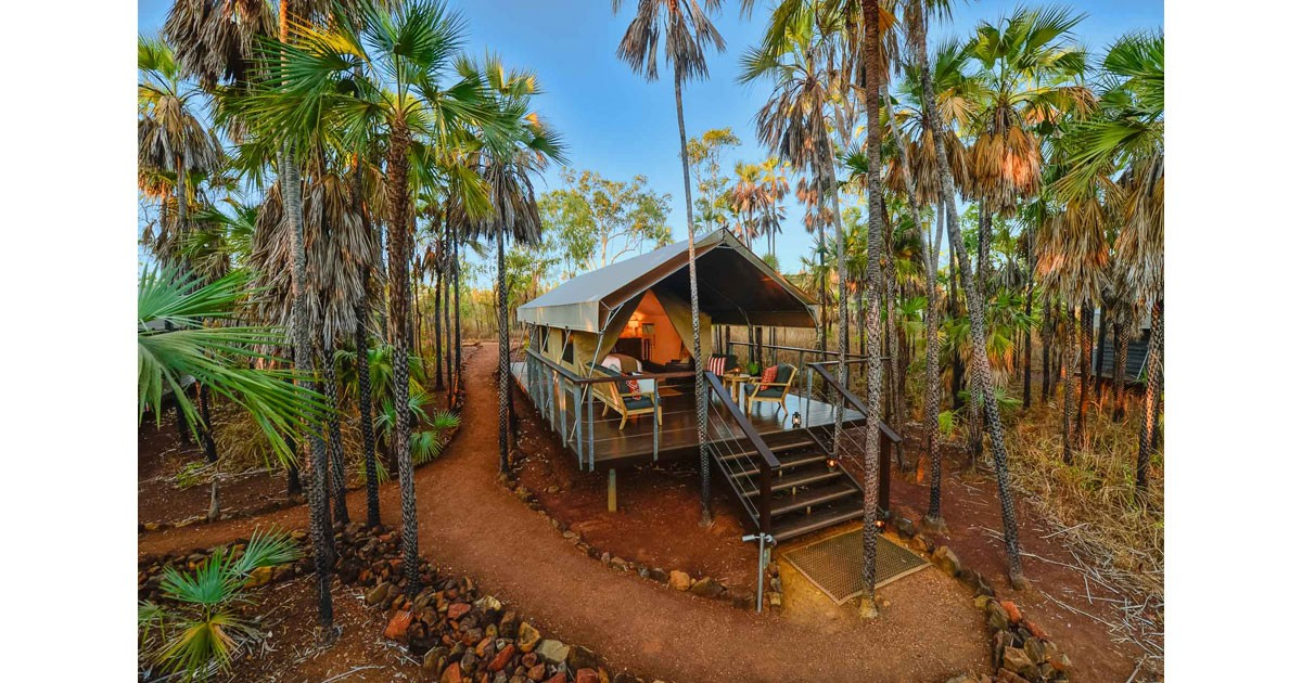 Tropical Paradise with Exclusive Tents