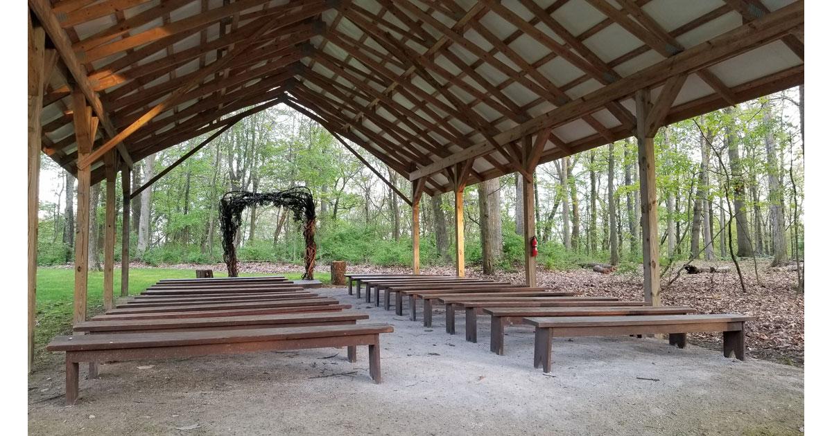 Wedding Ceremony Space. Photo: Mary Farha