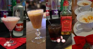Winter Holiday Cocktails