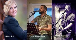 SINGER-SONGWRITERS RADIO: NICKI KRIS, JAMES SAUNDERS, JON MAGNUSSON
