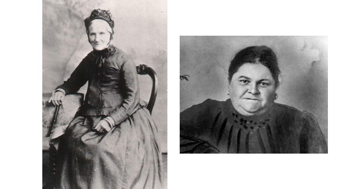 Lydia Goll & Harriet Ann Bailey