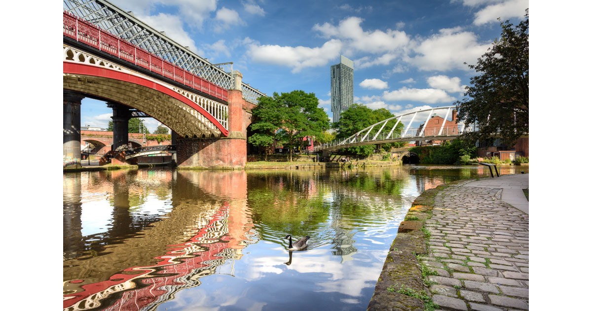 Castlefield Arch Manchester courtesy of Marketing Manchester