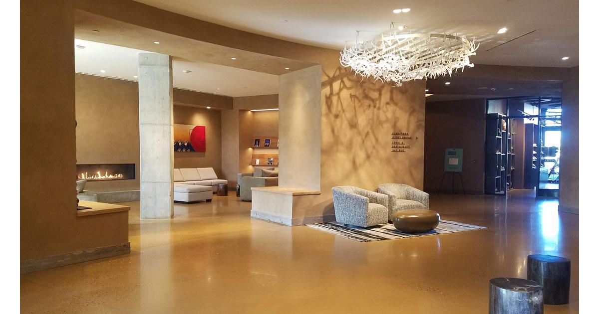 Beautiful Hotel Chaco Lobby