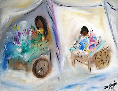 Ted DeGrazia Paints the Marketplace